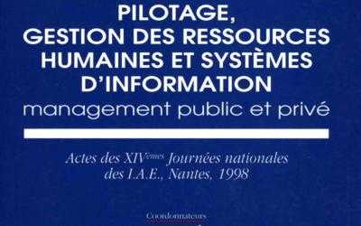 Le management public local au regard de la spécificité territoriale française (1998)