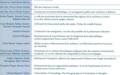 Médias sociaux et déterminants de la confiance. Les fédérations sportives françaises sur Facebook (2019)