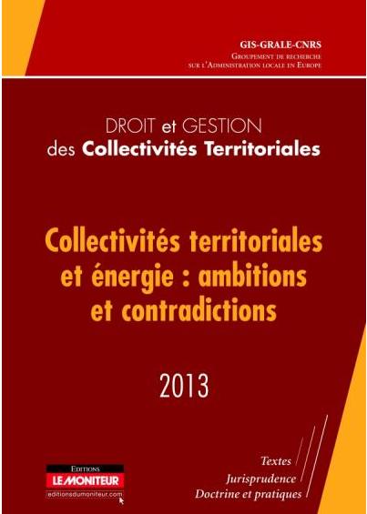 Le démarketing, instrument de politique énergétique des collectivités territoriales (2013)