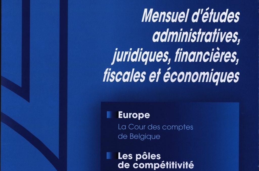 Les pôles de compétitivité français : origine, cadre d'analyse et perspectives (2007)