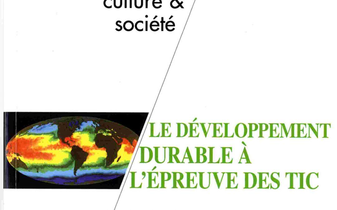 Les sites internet des collectivités territoriales : une nouvelle communication dans les politiques de tri sélectif ? (2011)
