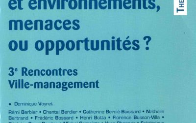 L'intercommunalité française : entre internalisation de l'environnement et composition politique (2000)